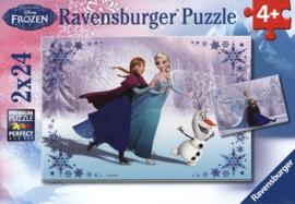 Ravensburger Disney Frozen 2x24 stukjes