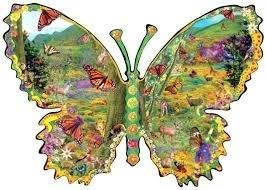 SunsOut 95750  Monarch Meadow Butterfly 1000 stukjes  Vormpuzzel