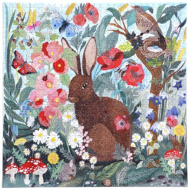 eeBoo - Poppy Bunny - 1000 stukjes