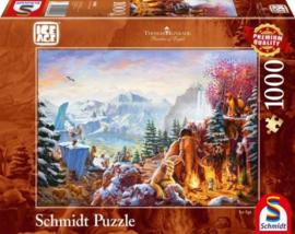 Thomas Kinkade -  Ice Age - 1000 stukjes