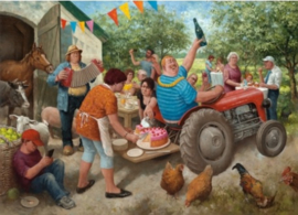 Art Revisited Marius van Dokkum - Tuinfeest - 1000 stukjes
