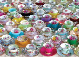 Eurographics 5314 - Tea Cups Collection - 1000 stukjes