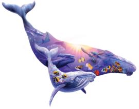 SunsOut 90348 - Humpback Whale 1000XL stukjes  Vormpuzzel