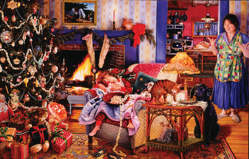 SunsOut 44631 - Christmas Thieves - 1000 stukjes