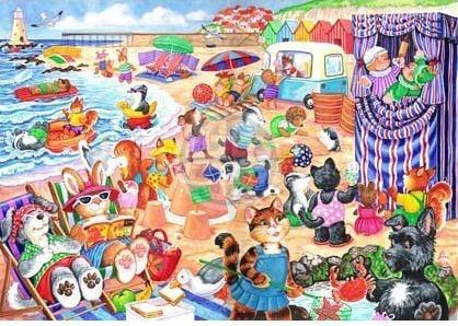 House of Puzzles - At the Seaside - 80XL stukjes