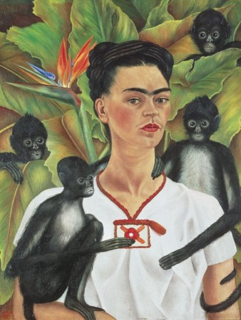Piatnik Frida Kahlo - Self Portrait with Monkeys - 1000 stukjes