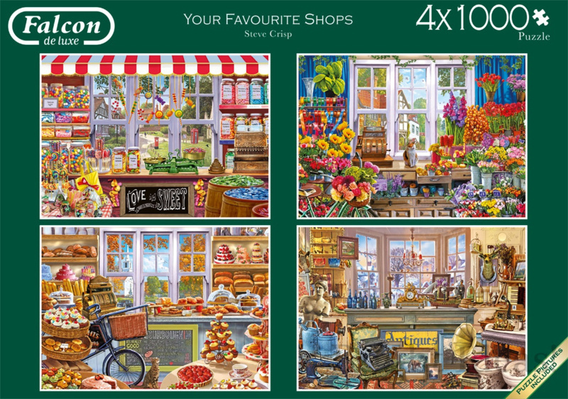 Falcon de Luxe 11249 - Your Favorite Shops - 4x1000 stukjes