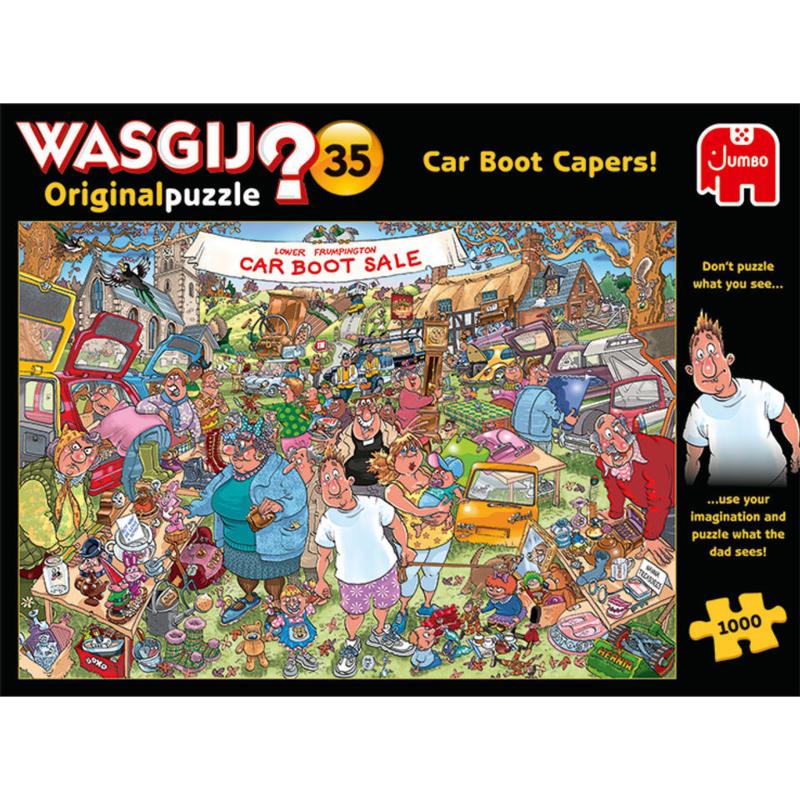 Wasgij Original 35 - Vlooienmarkt Vondsten - 1000 stukjes