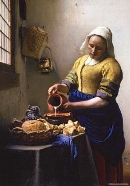 Puzzelman Johannes Vermeer - De Keukenmeid -  1000 stukjes