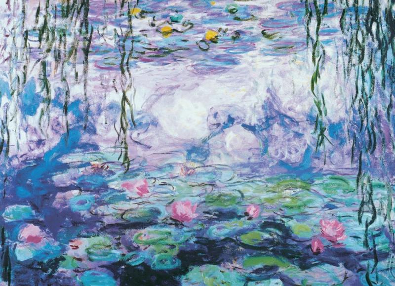 Eurographics Claude Monet - Waterlilies - 1000 stukjes