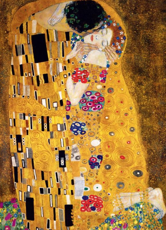 Eurographics Gustav Klimt - The Kiss - 1000 stukjes