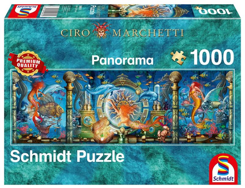 Schmidt - Onderwaterwereld - 1000 stukjes  Panorams