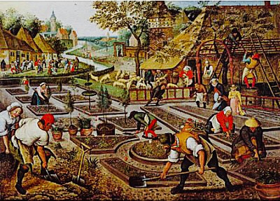 D-Toys - Pieter Brueghel - De Lente - 1000 stukjes
