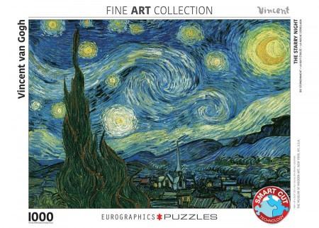Eurographics Vincent van Gogh - Starry Night - 1000 stukjes