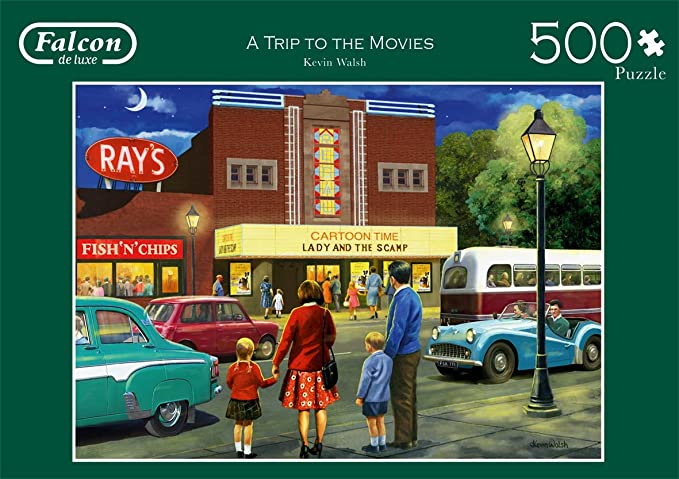 Falcon de Luxe 11240 - a Trip to the Movies - 500 stukjes