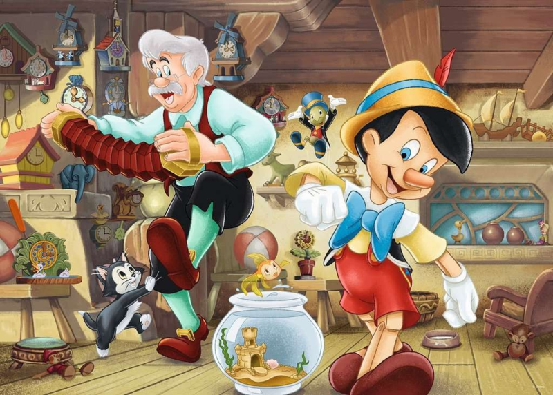 Ravensburger Disney - Pinocchio - 1000 stukjes