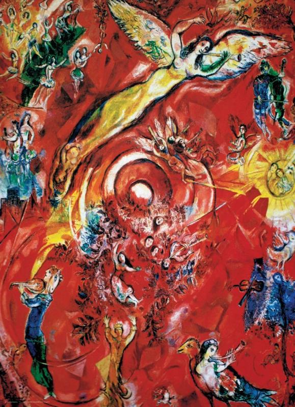 Eurographics Marc Chagall - The Triumph of Music - 1000 stukjes