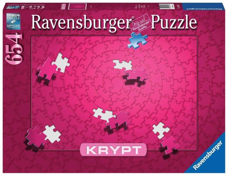 Ravensburger - Krypt Pink - 654 stukjes