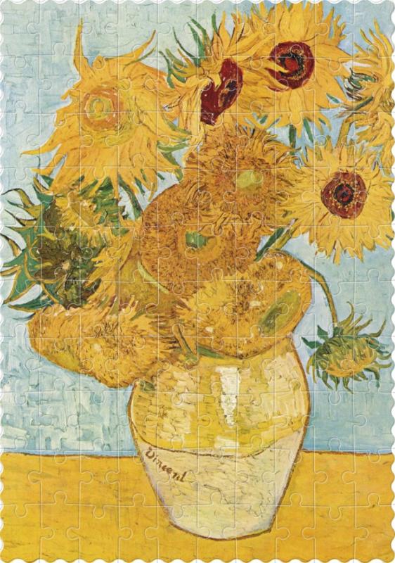 Londji Vincent van Gogh - Sunflowers - Kaleidoscoop
