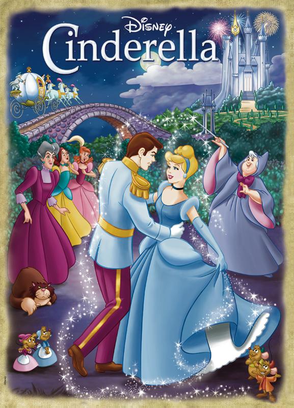 Jumbo Classic Collection - Disney Cinderella - 1000 stukjes