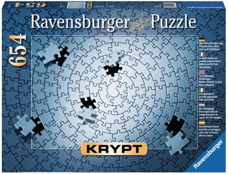 Ravensburger - Krypt Silver - 654 stukjes