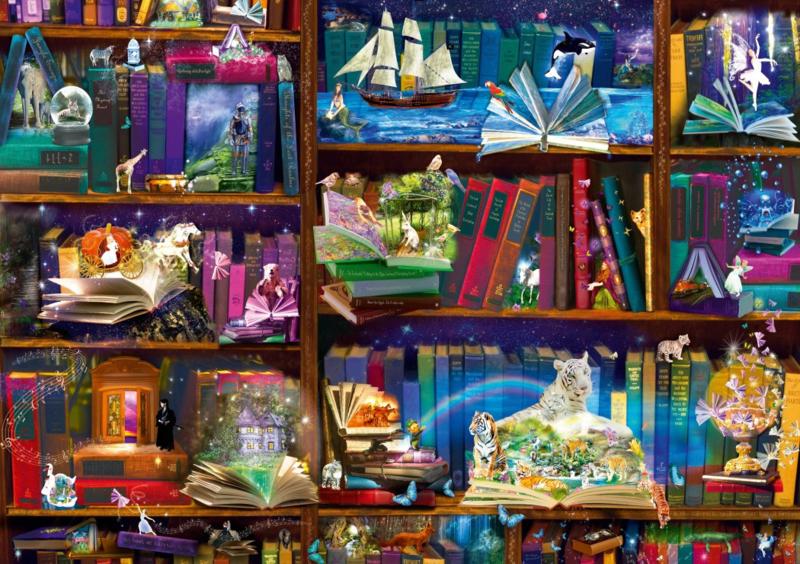 Bluebird - Library Adventures in Reading - 1000 stukjes