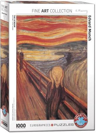 Eurographics Edvard Munch - The Scream - 1000 stukjes