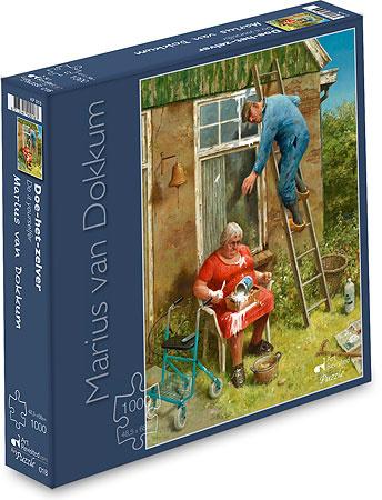 Art Revisited Marius van Dokkum - Doe Het Zelfer - 1000 stukjes
