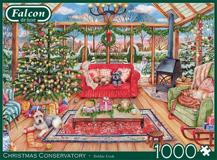Falcon de Luxe - The Christmas Conservatory - 1000 stukjes