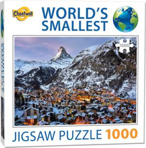 TFF World's Smallest - Matterhorn - 1000 stukjes  Minipuzzel
