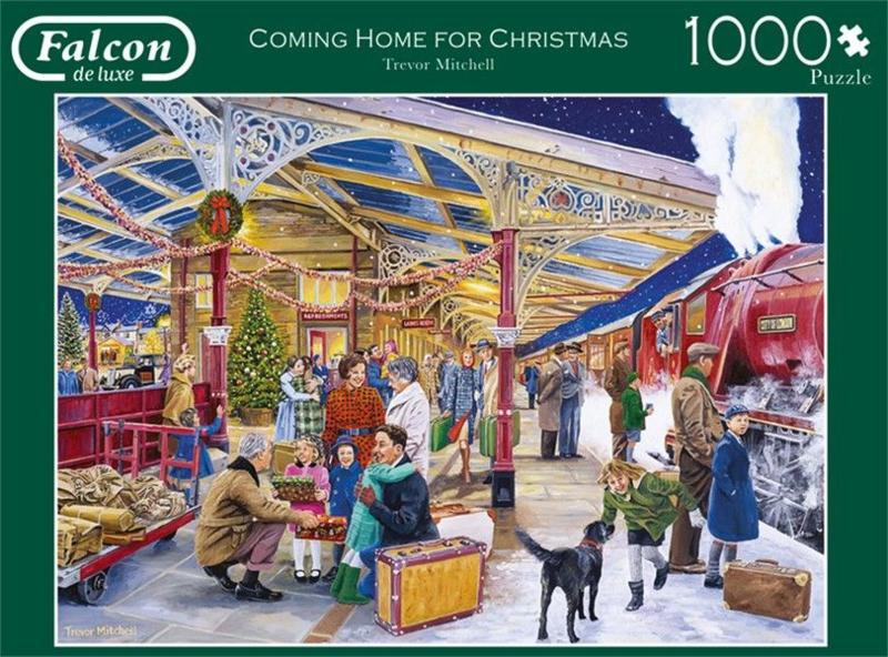 Falcon de Luxe - Coming Home For Christmas - 1000 stukjes