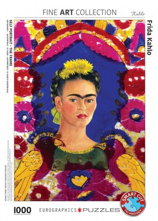 Eurographics Frida Kahlo - Self Portret, The Frame - 1000 stukjes