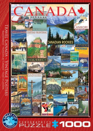 Eurographics 0778 - Travel Canada-Vintage Posters - 1000 stukjes