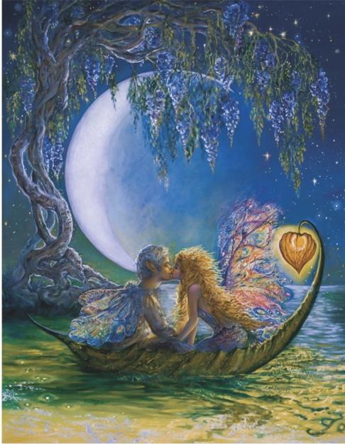 DaVICI Josephine Wall - Wisteria Moon - 250 stukjes