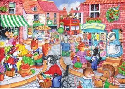 House of Puzzles - In The Town - 80XL stukjes