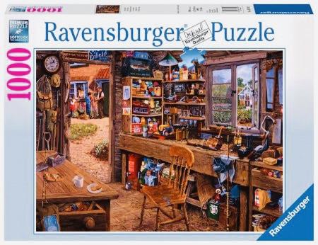 Ravensburger - Opa's Schuurtje - 1000 stukjes