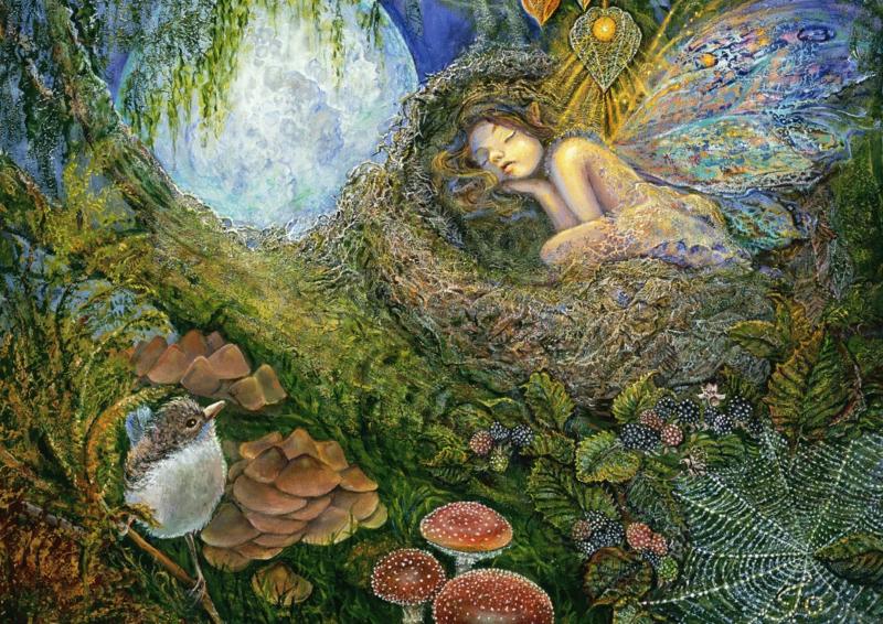 Grafika Josephine Wall - Fairy Nest - 2000 stukjes