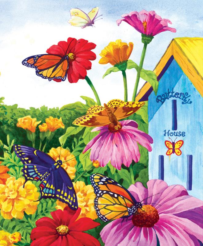 SunsOut 62935 - Butterfly Homecoming - 1000 stukjes