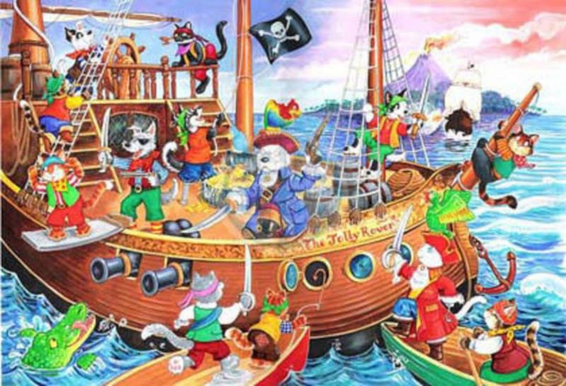 House of Puzzles - Pirates Ahoy - 80XL stukjes