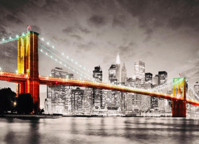 Eurographics 0662 - New York City Brooklyn Bridge - 1000 stukjes
