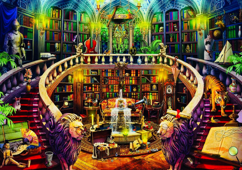 Educa - Bibliotheek - 500 stukjes