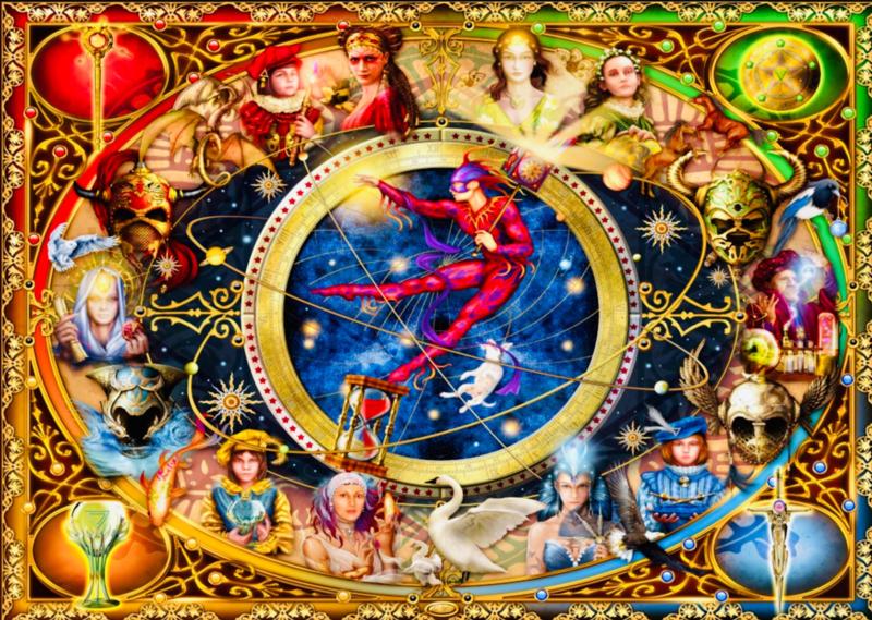 Bluebird - Legacy of the Divine Tarot - 1000 stukjes