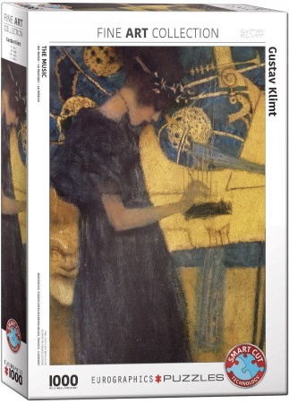 Eurographics Gustav Klimt - The Music - 1000 stukjes