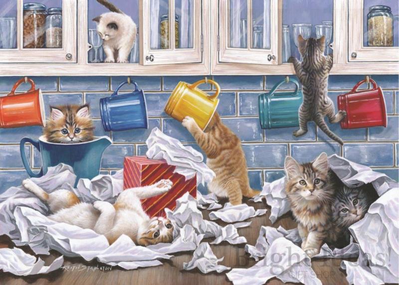 House of Puzzles - Kitty Litter - 250XL stukjes