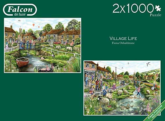 Falcon de Luxe - Village Life - 2x1000 stukjes