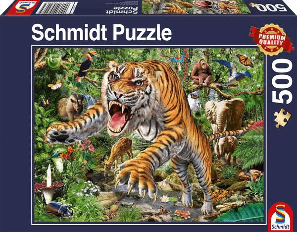 Schmidt - Tijger Aanval - 500 stukjes
