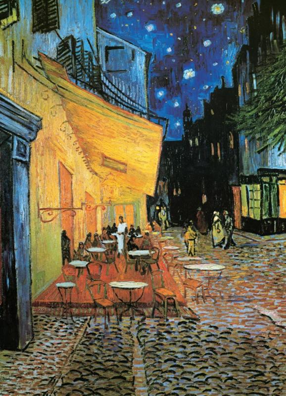 Eurographics Vincent van Gogh - Cafe Terrace at Night - 1000 stukjes