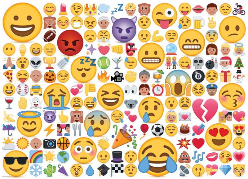 Eurographics 0816 - Emojipuzzle What's Your Mood? - 1000 stukjes