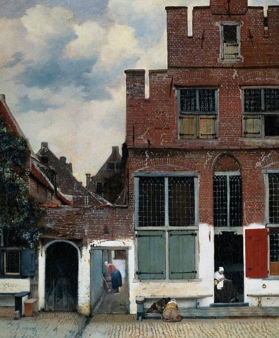 Puzzelman Johannes Vermeer - Het Straatje - 1000 stukjes