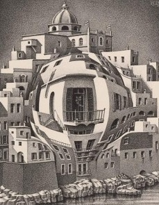 Puzzelman M.C. Escher - Balkon - 1000 stukjes